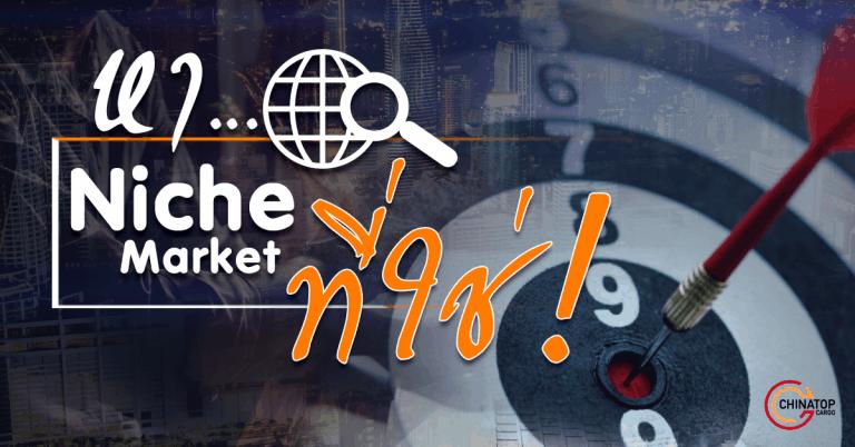 ชิปปิ้ง 5 ขั้นตอนค้นหา Niche Market ที่ใช่สำหรับคุณ ชิปปิ้ง ชิปปิ้ง 5 ขั้นตอนค้นหา Niche Market ที่ใช่สำหรับคุณ Nichemarket 768x402